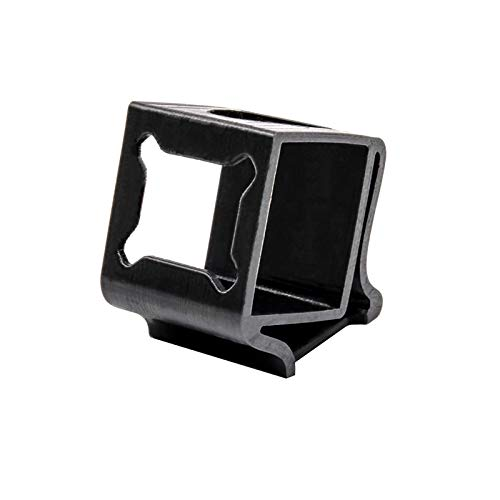 TCMMRC 3D Printed Black Camera Protector Mount Case Seat 30° TPU for FPV Racing Drone Quadcopter Frame