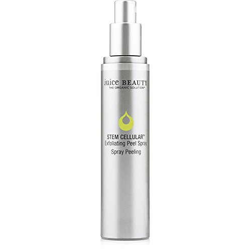 Juice Beauty Stem Cellular Exfoliating Peel Spray - Gentle Resurfacing Facial Exfoliant to Visibly Help Skin Texture in Seconds - Vegan Stem Cells, Made with Organic Ingredients (1.7 Fl Oz) (Best Ry4 E Juice 2019)