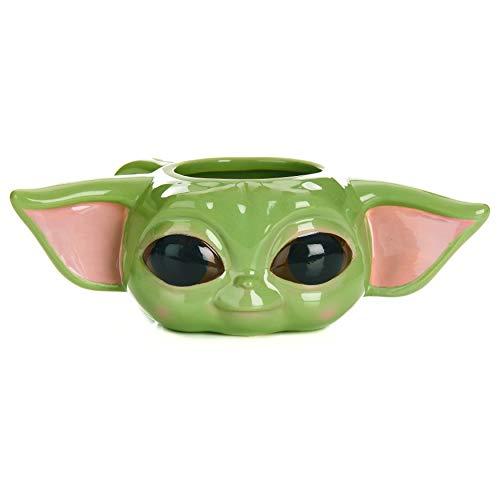 Paladone The Mandalorian Child Baby Yoda Tasse – Offiziell lizenziertes Star Wars Merchandise, PP7342MAN