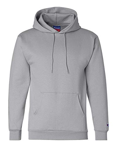 Champion Men's Double Dry Action Fleece Pullover Hood_Light Steel_M