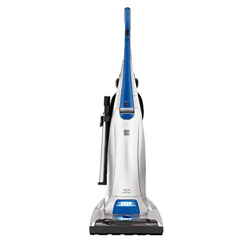 Kenmore 31140 Pet Friendly Lightweight Bagged Upright Beltless Vacuum with Pet Handi-Mate, Triple HEPA, Telescoping Wand, 4-Position Height Adjustment, 3 Cleaning Tools and AAFA Certified-Blue/Silver
