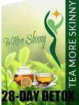 Tea More Skinny-Belly Fat Slimming Tea - Detox/Weight Loss Tea- Appetite Suppressant with Green Tea-28 Day Supply from Tea More Skinny
