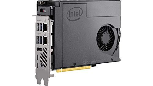 Intel NUC - Ordenador de sobremesa BKNUC9VXQNB Xeon E-2286M, 64 GB, DDR4 2400 o 32 GB, DDR4-2666 Bulk