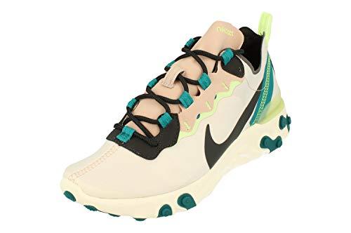 Nike BQ2728-202, Running Shoe Womens, Fossil Stone/Dark Smoke Grey