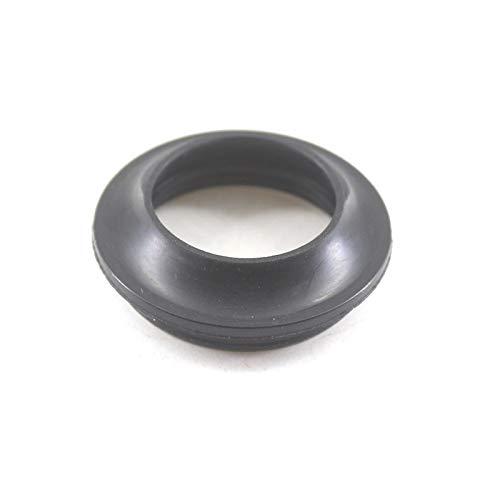 WNJ-TOOL, 2 Stück Motorrad-Vorderradgabel Staubdichtung 32x44 / 37x50 / 41x54 / 43x55mm Black Rubber stoßabsorbierendes Oil Seal Dust Cover (Größe : 31x43mm)