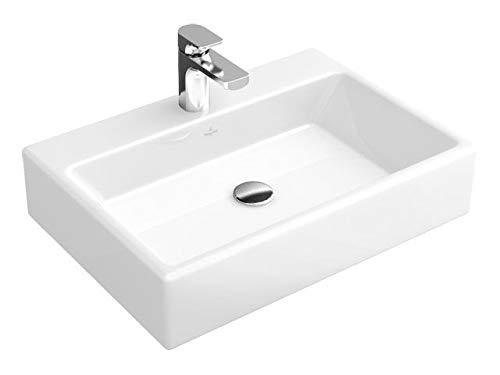 Villeroy & Boch Waschtische MEMENTO 50cm x 42cm mit 1 Hahnloch ohne Überlauf weiß