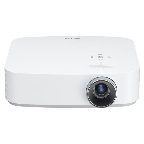 LG PF50KG LED-Beamer, FHD, 600 Lumen, Weiß