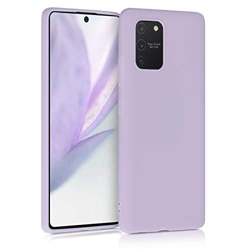 kwmobile Hülle kompatibel mit Samsung Galaxy S10 Lite - Hülle Silikon - Soft Handyhülle - Handy Hülle in Lavendel