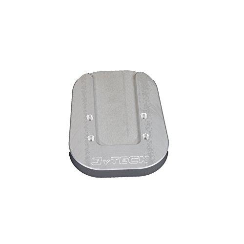 Mytech – élargissement Plaque Chevalet anodisé Silver – Bandit 650