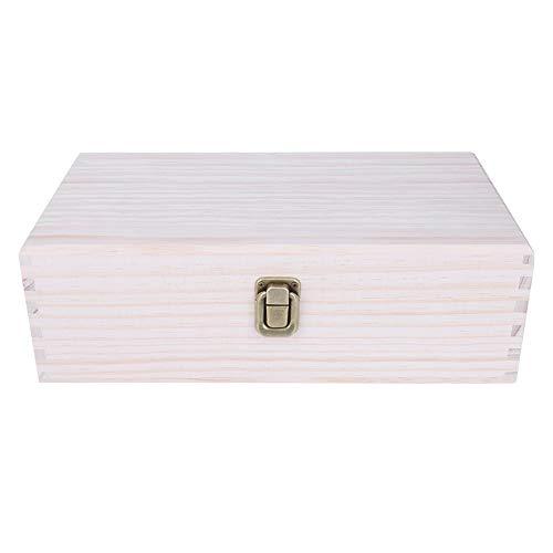 Caja de almacenamiento de aceite esencial, 28 compartimentos Aromaterapia Organizador de exhibición...