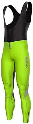 Zimco Pro Cycling Softshell Bib Tight Windproof Bike Thermal Hiviz Bib Pant XL product image