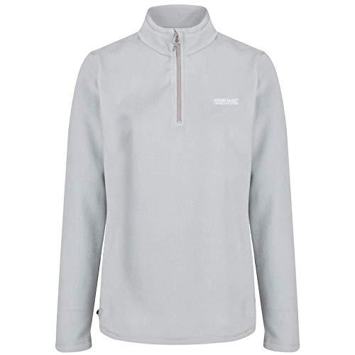Regatta Women's Sweethart Lightweight Half-Zip Symmetry Fleece, Grey (Light Steel), 14