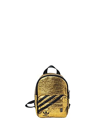 Adidas BP Mini Sac à Dos, Gold met./Black, NS Femmes