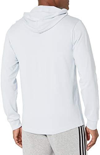 Amazon.com : adidas Men's Small Logo Single Jersey Hoodie : Sports ...