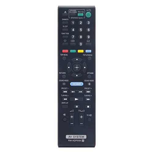 ALLIMITY RM-ADP058 Fernbedienung Ersetzen für Sony Blu-ray DVD Home Cinema System BDV-E280 BDV-EF200 HBD-EF200 BDV-E380 BDV-L800 BDV-E780W BDV-L800M BDV-E880 BDVL600 BDV-E980 HBD-E880