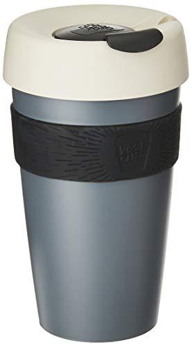 wiederverwendbar Kaffee Tasse. Leicht BPA BPS Kunststoff mit rutschfesten silikon Band. 16 oz Large Nitro