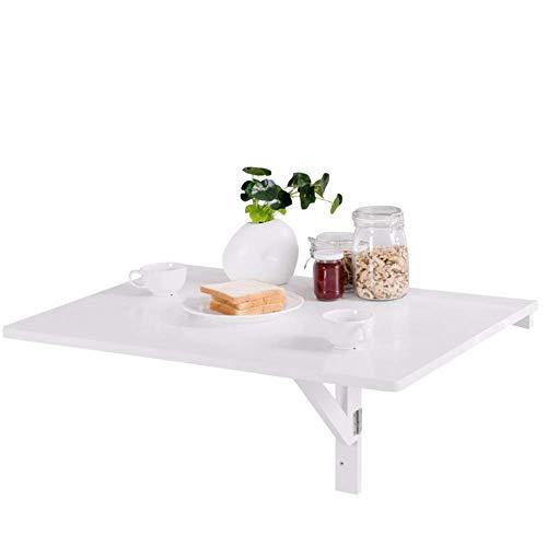 FGDSA Mesa montada en la Pared estantería para exhibición y Libro de Madera montada en la Pared Mesa de Comedor de Cocina Plegable Que Ahorra Espacio