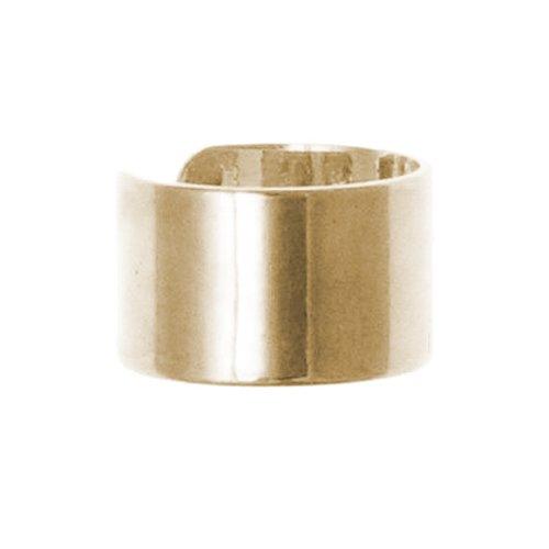 Semplice orecchino per elice, in oro giallo 9kt, a clip, che si avvolge attorno alla cartilagine (non richiede foro)