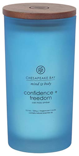 Chesapeake Bay Candle PT31912 Scented Candle, Confidence + Freedom (Oak Moss Amber), Large
