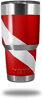 c55a10786d2 Skin Decal Wrap for Yeti Tumbler Rambler 30 oz Dive Scuba Flag (TUMBLER NOT  INCLUDED