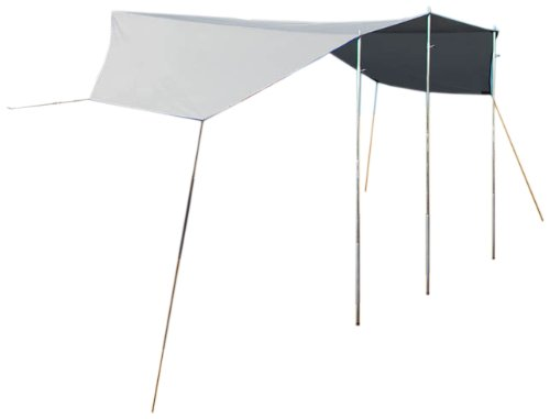 Reimo Tent Technology Sonnenvordach Mauritius L, 4,8x3 Meter mit 2 Aufstellstangen