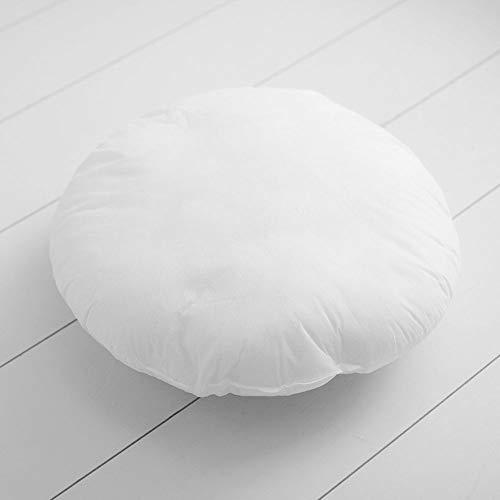 Mixibaby Kissenfüllung Kissen Füllkissen Sofakissen Bettkissen Dekokissen 40cm Durchmesser, Menge:2 Stück