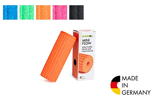 BLACKROLL  Faszienrolle Mini Flow, orange, One Size, AMBMFLOR