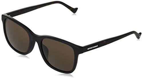 Gafas de sol Emporio Armani EA 4139 F Ajuste Asiático 501773 Negro Mate