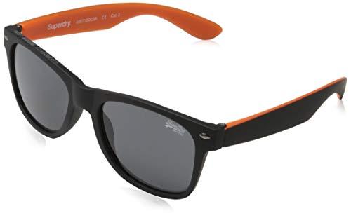 Superdry NEWFARE gafas de sol, Rubberised Black, Einheitsgröße para Hombre