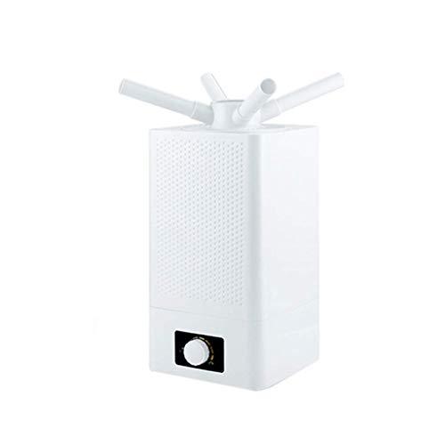 Mopoq Humidificador de aire del dormitorio del hogar 11L de gran capacidad comercial Niebla humidificador industrial spray vegetal Preservación de doble núcleo de la atomización de alta potencia de Ni