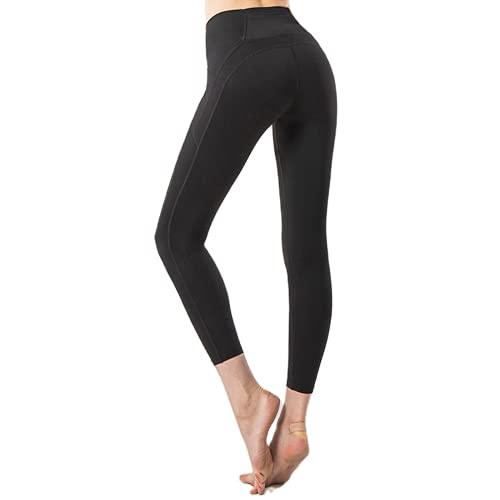 QTJY Pantalones de Yoga Delgados para Mujer, Mallas sin Costuras, Pantalones Deportivos para Gimnasio al Aire Libre, Pantalones Deportivos al Aire Libre de Alta Elasticidad y Secado rápido, B XL