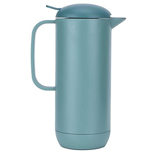 Hervidor, fácil de verter, diseño de tapón de rosca para cafetera con aislamiento de agua para actividades al aire libre, cafetería, oficina,...