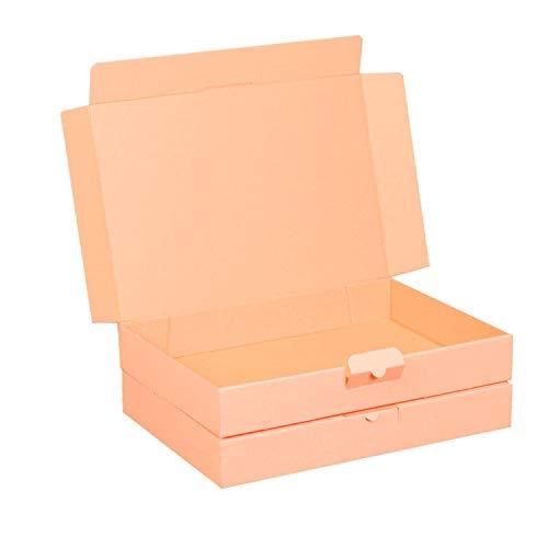 100 Maxibriefkartons 320 x 225 x 50 mm braun (100 Stück) DIN A4 Maxibrief Versandkarton für DHL DPD GLS Hermes Warensendung Büchersendung mit Steckverschluss