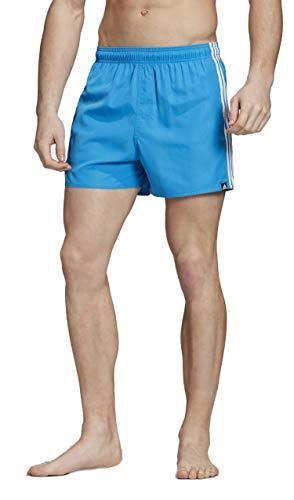 adidas 3S Sh Vsl, Boxer Uomo, Blu/Bianco, S