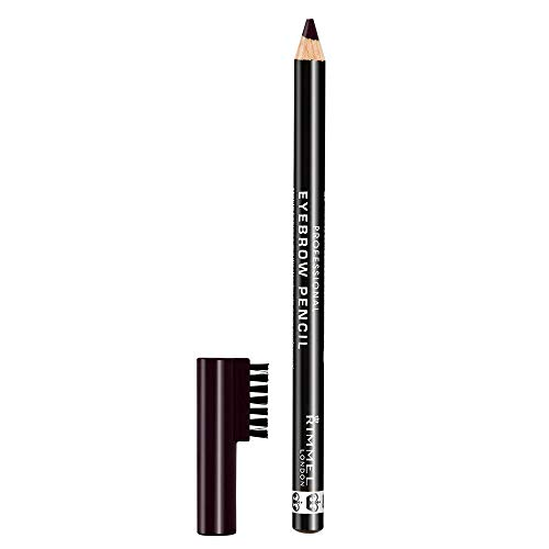 Rimmel Professional Eyebrow, Black Brown, 0.05 Ounce (Pack of 1)