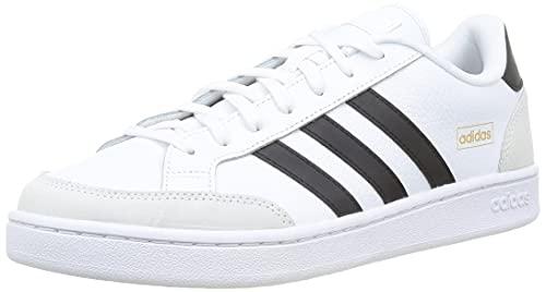 adidas Grand Court SE, Sneaker Hombre, Cloud White/Core Black/Orbit Grey, 42 EU