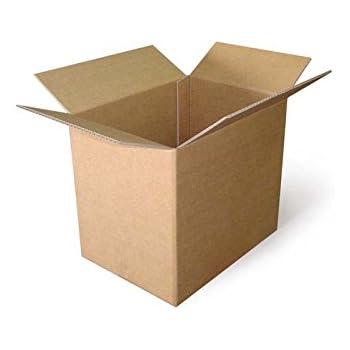 Caja de Cartón 50 x 35 x 20 cm CSM08, Pack de 15 uds: Amazon.es: Oficina y papelería