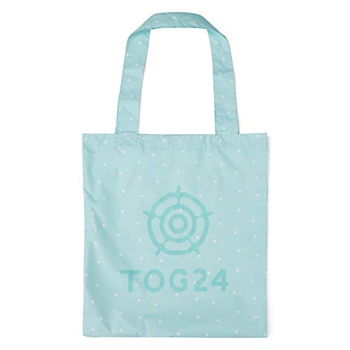 TOG24 Tote Packable Bag Strong, Lightweight and Reusable Eggshell Blue Spot One Size