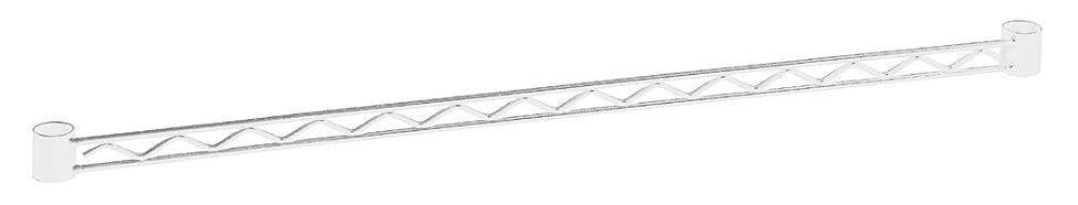 送料定数側溝ホームエレクター ハンガーレール ホワイト W600mm用 HA124W