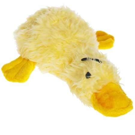Multipet Duckworth Plush Dog Toy 13', Assorted Colors, Large (Pack of...