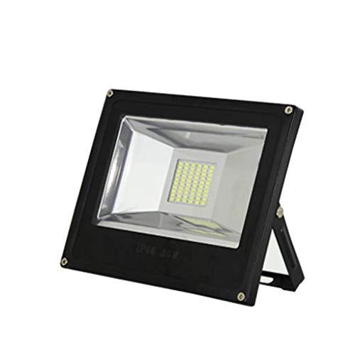 Mysida floodlight Projecteur IP66 étanche étanche de sécurité extérieur pour projecteur, Cour, Garage, Usine, Jardin, Rues Ect (2 pièces) (Couleur : Warmyellow, Taille : 400W)