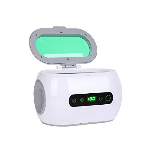 VONLUCE Mini Ultraschallreiniger 600ML Ultraschallreinigungsgerät mit Reinigungskorb Uhrenhalter Ultrasonic Reinigungsmaschine Cleaner Brillenreiniger für Brillen Schmuck Uhren Zahnprothesen