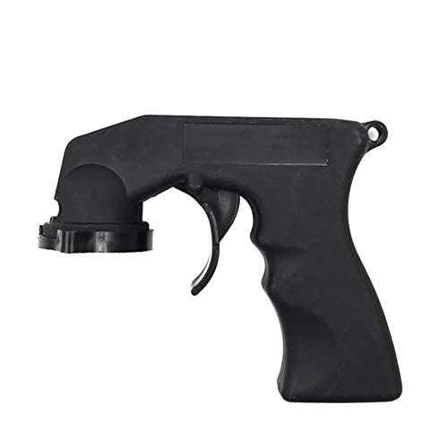 Rouku Sprühadapter Lackpflege Aerosol-Sprühdose Pistolengriff mit vollem Griff Abzugssperrhalsband Autowartung zum Lackieren