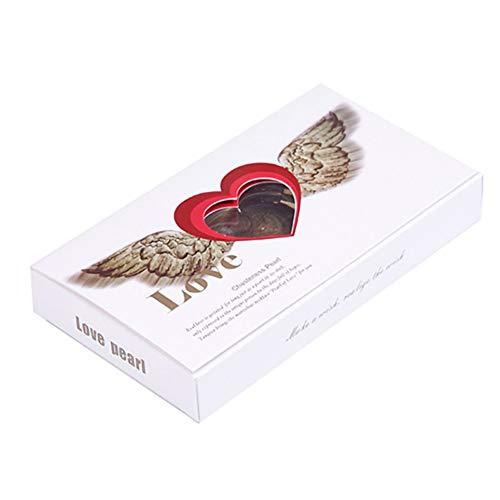 Ardorlove geschenkdoos prachtige parel doos sieradendoosje sieraden set valentijn geschenk ketting oorbellen cadeau opbergdoos voor vrouwen B