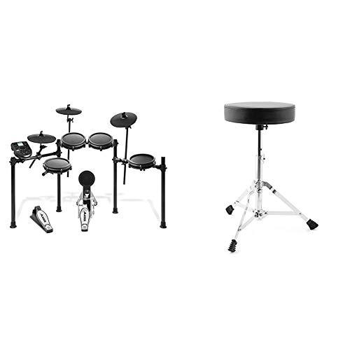 Alesis Drums Nitro Mesh Kit - Eight Piece Mesh Electric Drum Set With 385...