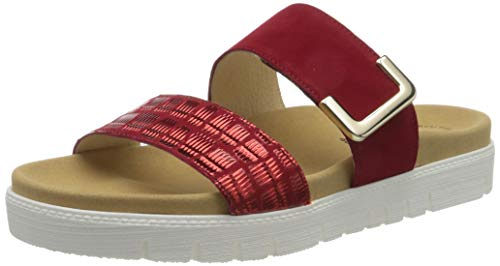 Gabor Shoes Gabor Jollys, Mules Femme, Rouge (Rubin 35), 37 EU