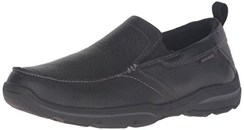 Skechers Skechers Men's HARPER- FORDE Loafers, Black (Black Blk), 10 (45 EU)