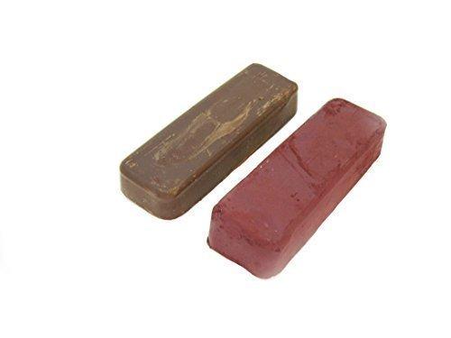Moleroda A 4X1 Rouge und Tripoli Compound bar für Schmuck Polieren