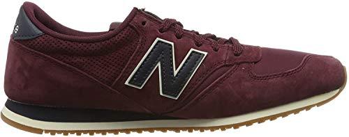 New Balance Herren U420 h Sneaker, Weinrot, 42 EU