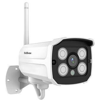 telecamera wifi esterno srihome SriHome SH024 IP camera PER ESTERNO 3 megapixel p2p cloud visione notturna web server onvif 1080P WATERPROOF IP66